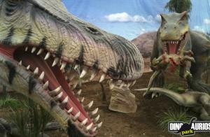 Disfruta estas navidades de Dinosaurios Park
