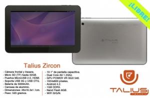 Promoción de Tablets Talius